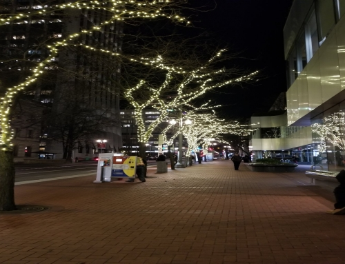 Holiday Lighting / Downtown PDX