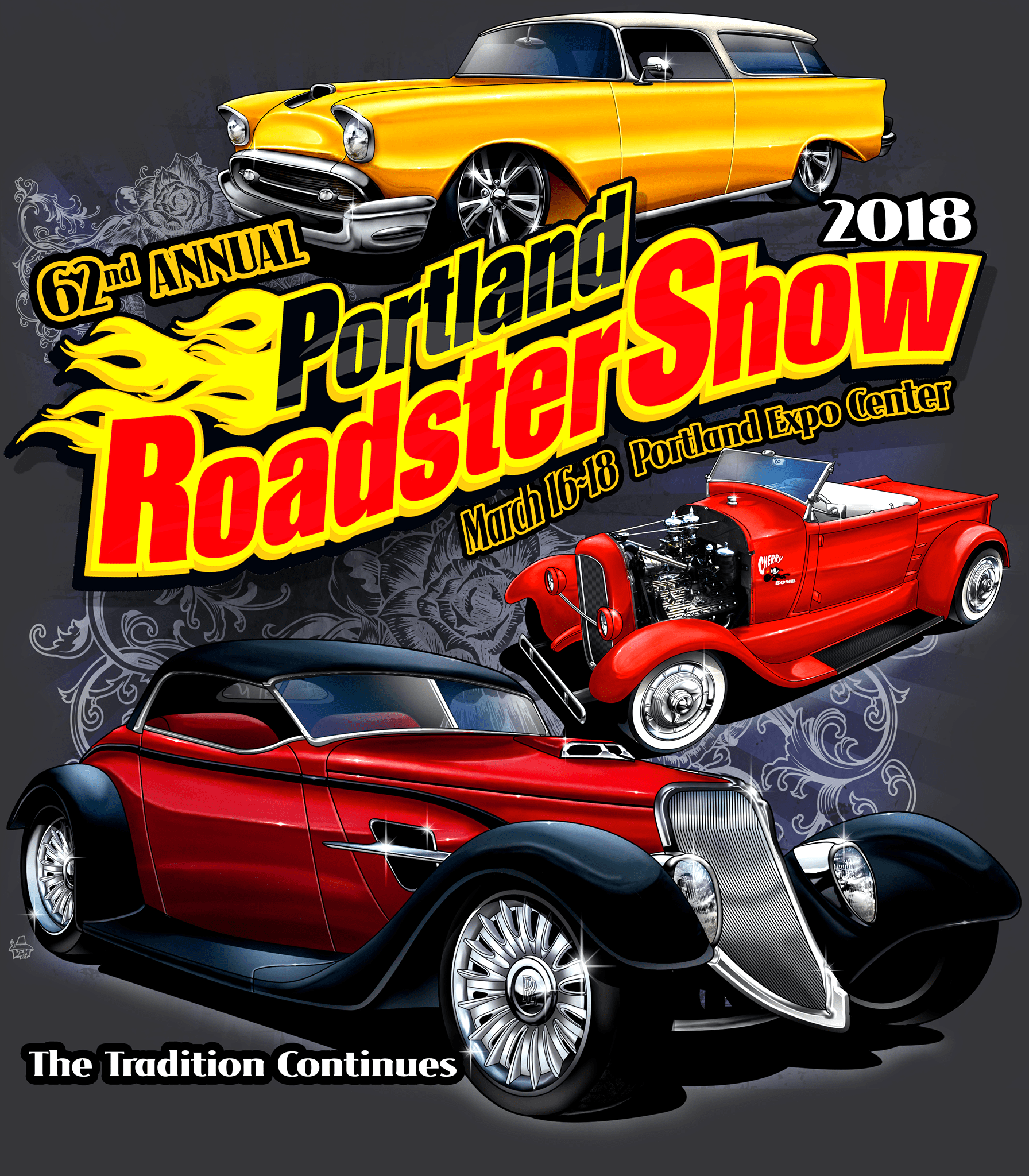 Nd Annual Portland Roadster Show Hollywood Lights - Portland expo car show