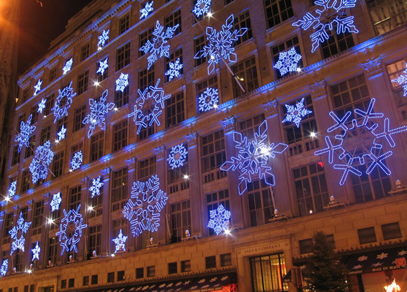 Holiday Lighting Snowflake Gobos
