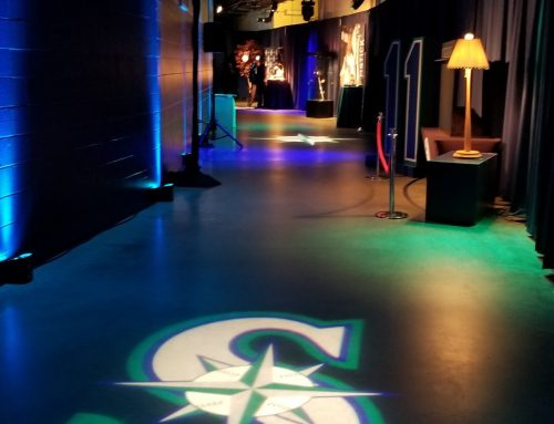 Seattle Mariners Gobo & Lights